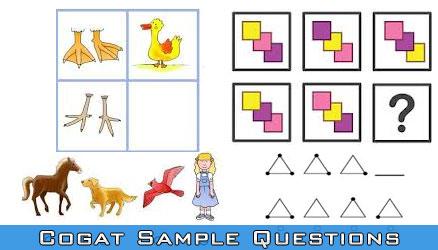 Cogat Sample Questions